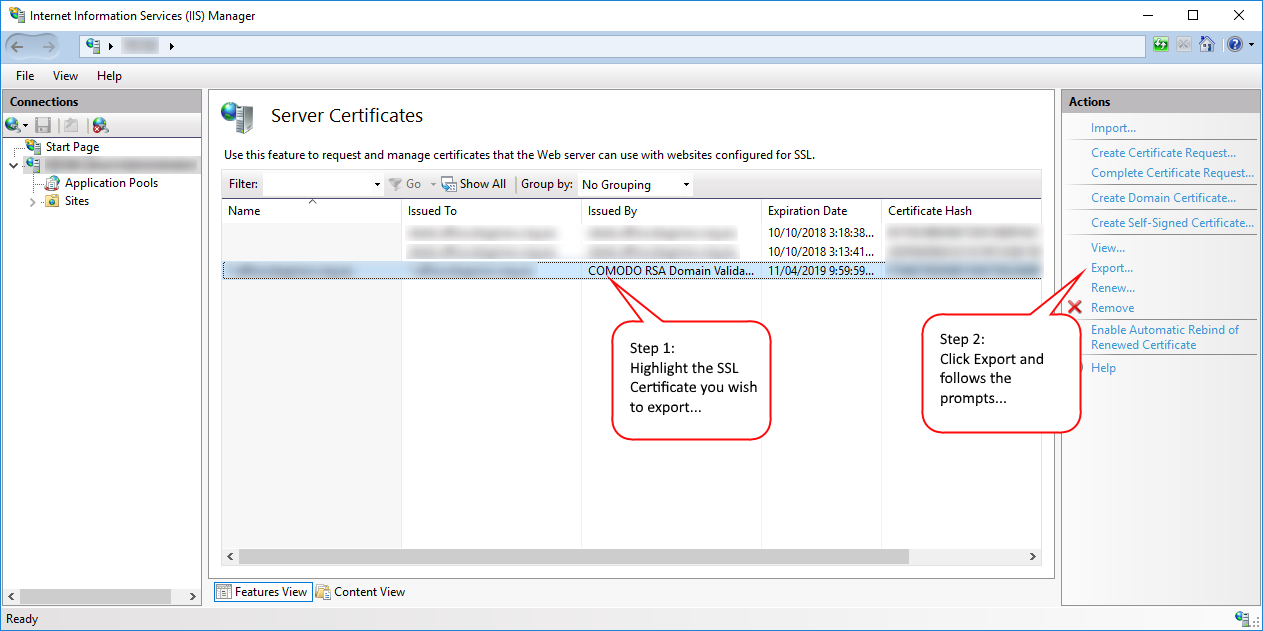 Ubiquiti Unifi Ssl Certificate On Windows Server 2016 Matrix 7