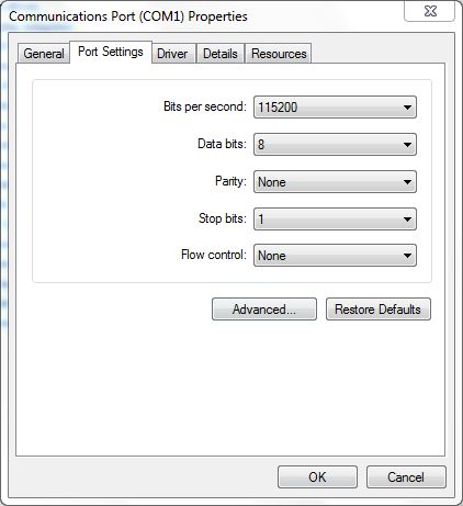 Mikrotik RB3011 Connect Via Serial Console - Matrix 7